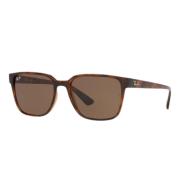 Óculos Ray Ban Retangular RB4339L 71013 56 Tartaruga