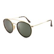 Óculos Ray Ban Round RB3647NL 001 51 Dourado