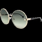 Óculos Salvatore Ferragamo Redondo SF189S 709 63 Dourado