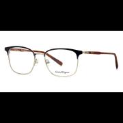 Óculos Salvatore Ferragamo Redondo SF2170 432 52 Azul/Dourado