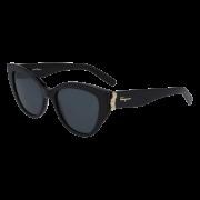 Óculos Salvatore Ferragamo Sunglasses Cat Eye SF969S 001 54 Preto