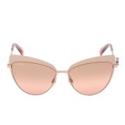 Óculos Swarovisk Cat Eye SK0220 33U 56 Rosê