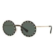 Óculos Valentino Redondo VA2010B 300371 55 Dourado