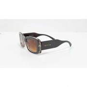 Óculos Vistta Aping Retangular LQ9008 C6 50 Marrom