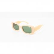 Óculos Vistta Aping Retangular LQ9008 C7 50 Bege