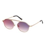 Óculos Web Round WE0198 34Z 57 Dourado