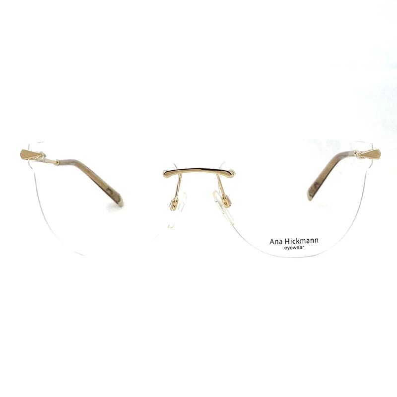 Armação Ana Hickmann AH1407 04A 58 Dourado