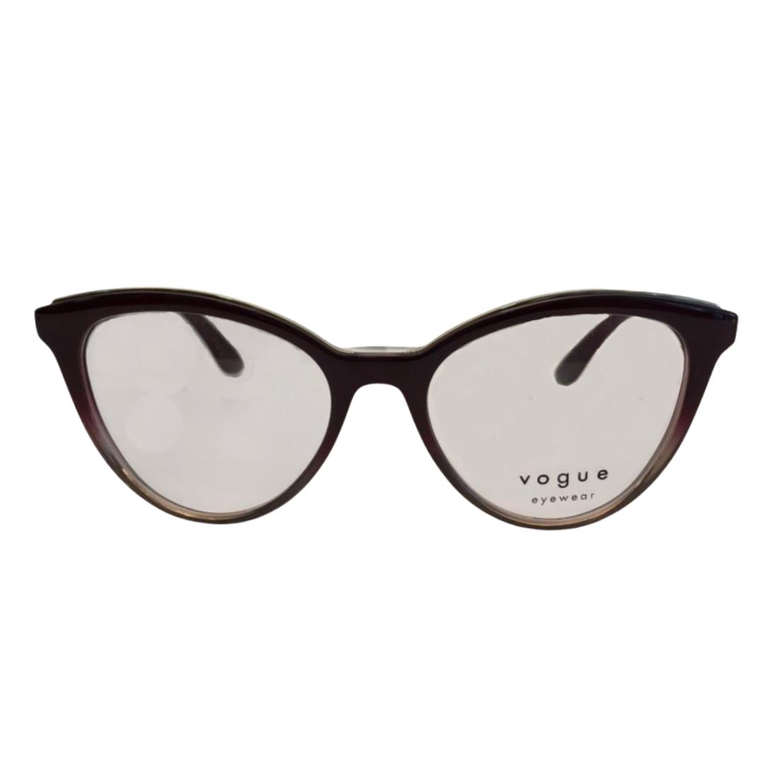 Armação Vogue Cat Eye VO5297L 2860 52 Vinho
