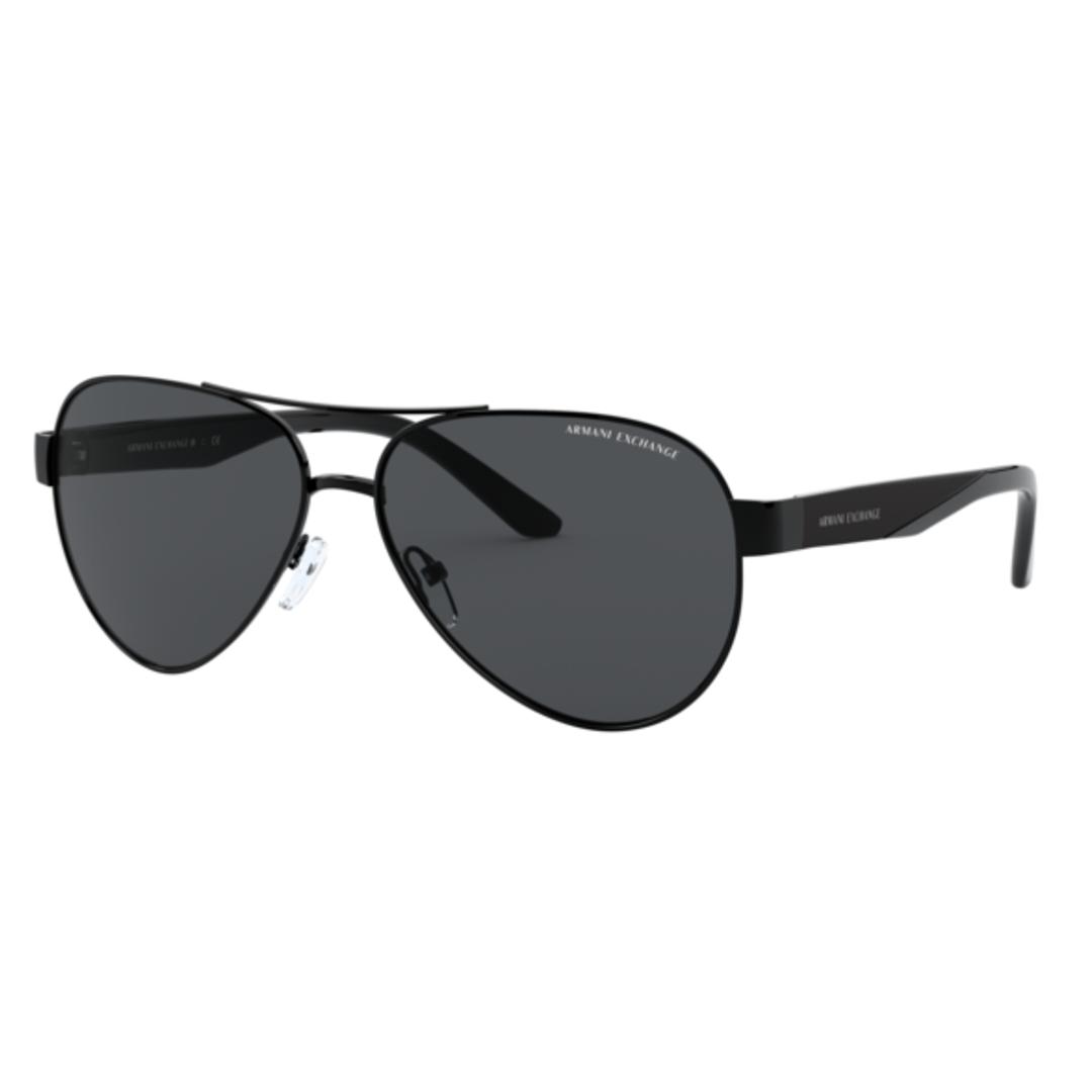 Óculos Armani Exchange Aviador AX2034S 600087 59 Preto