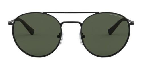 Óculos Armani Exchange Redondo AX2028S 606371 53 Preto
