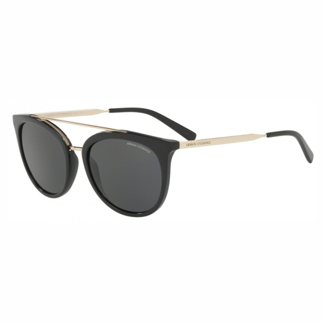 Óculos Armani Exchange AX4068S 815887 55 Preto e dourado