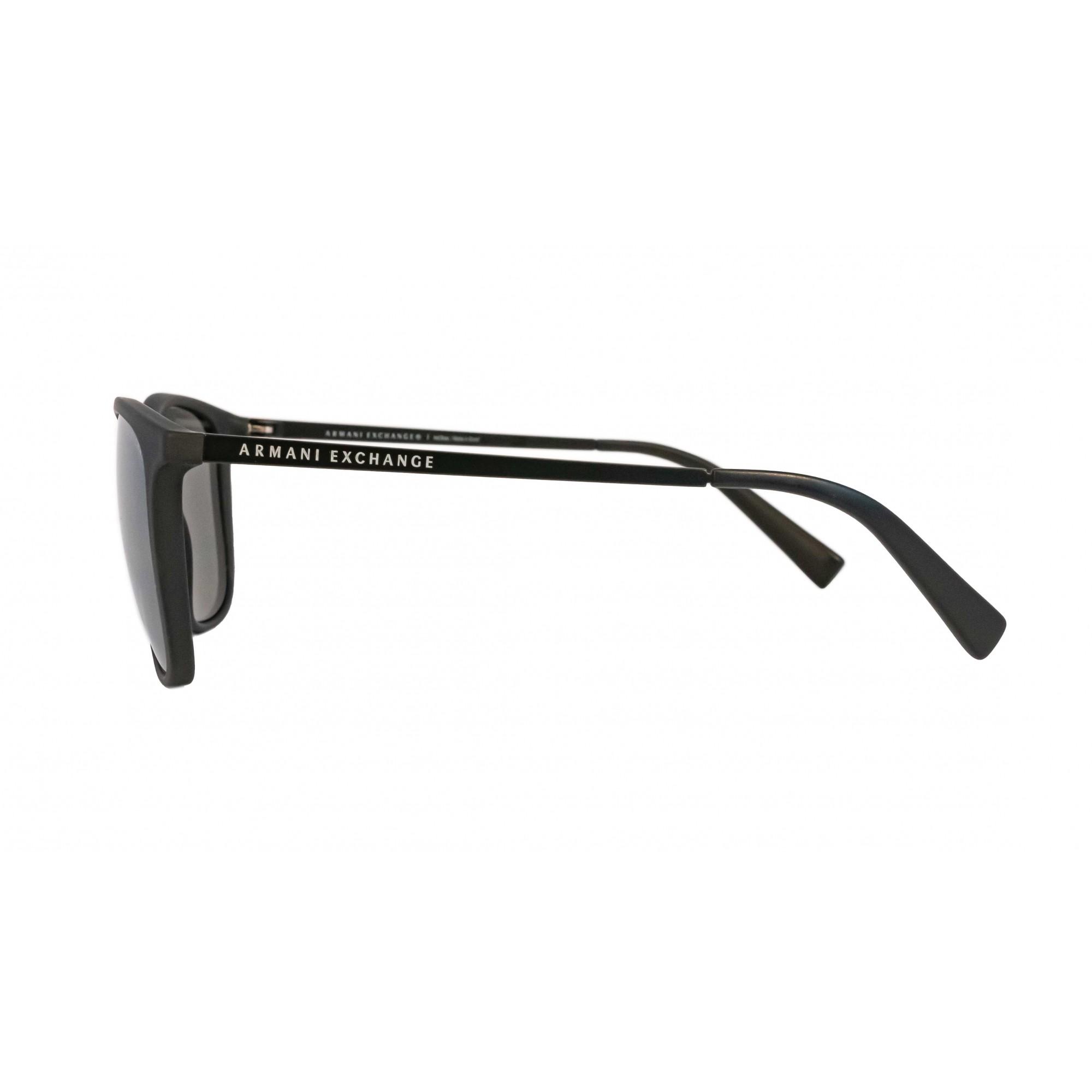 Óculos Armani Exchange Quadrado ax4047sl 80786g 57 Preto