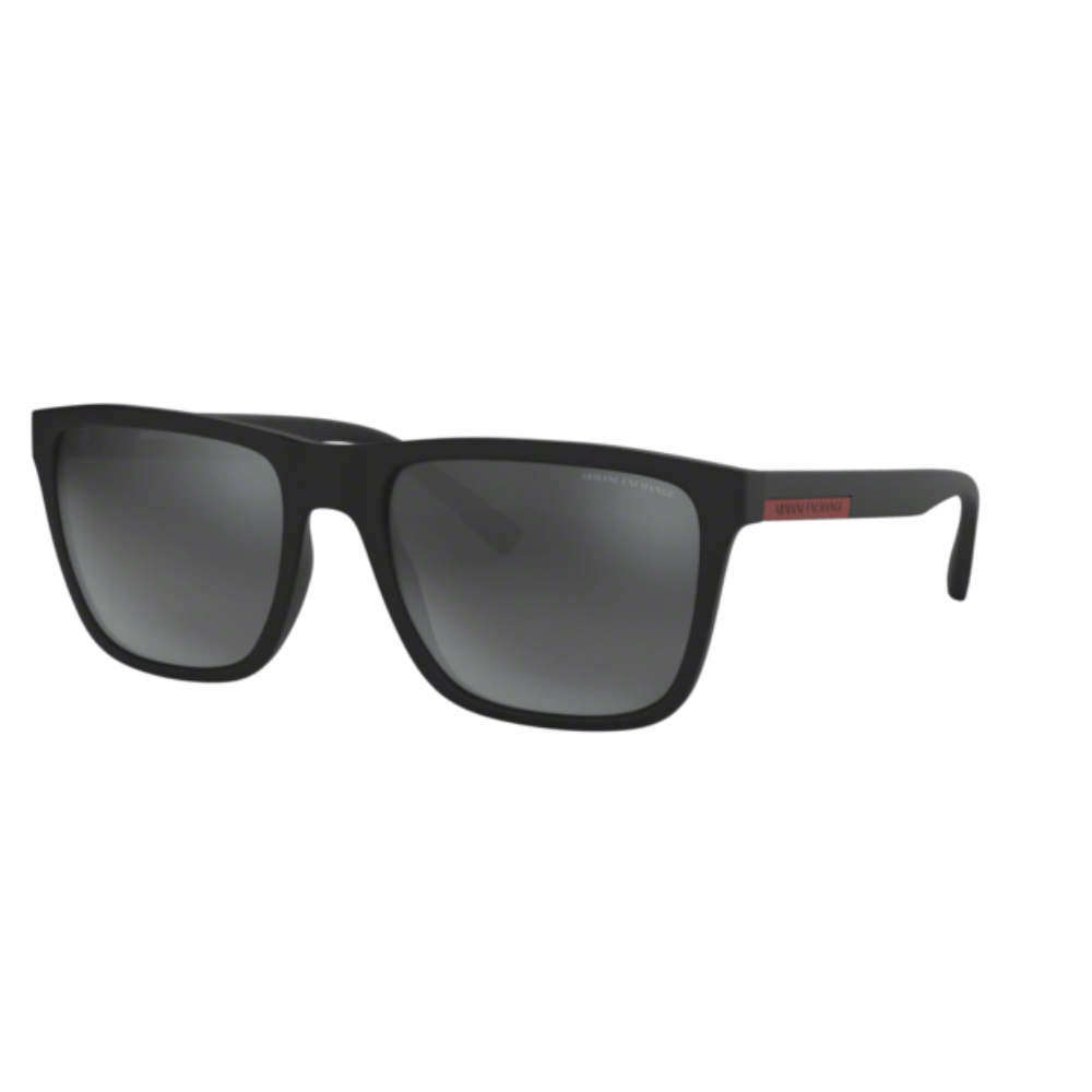 Óculos Armani Exchange Quadrado ax4080sl 81589a 57 Preto