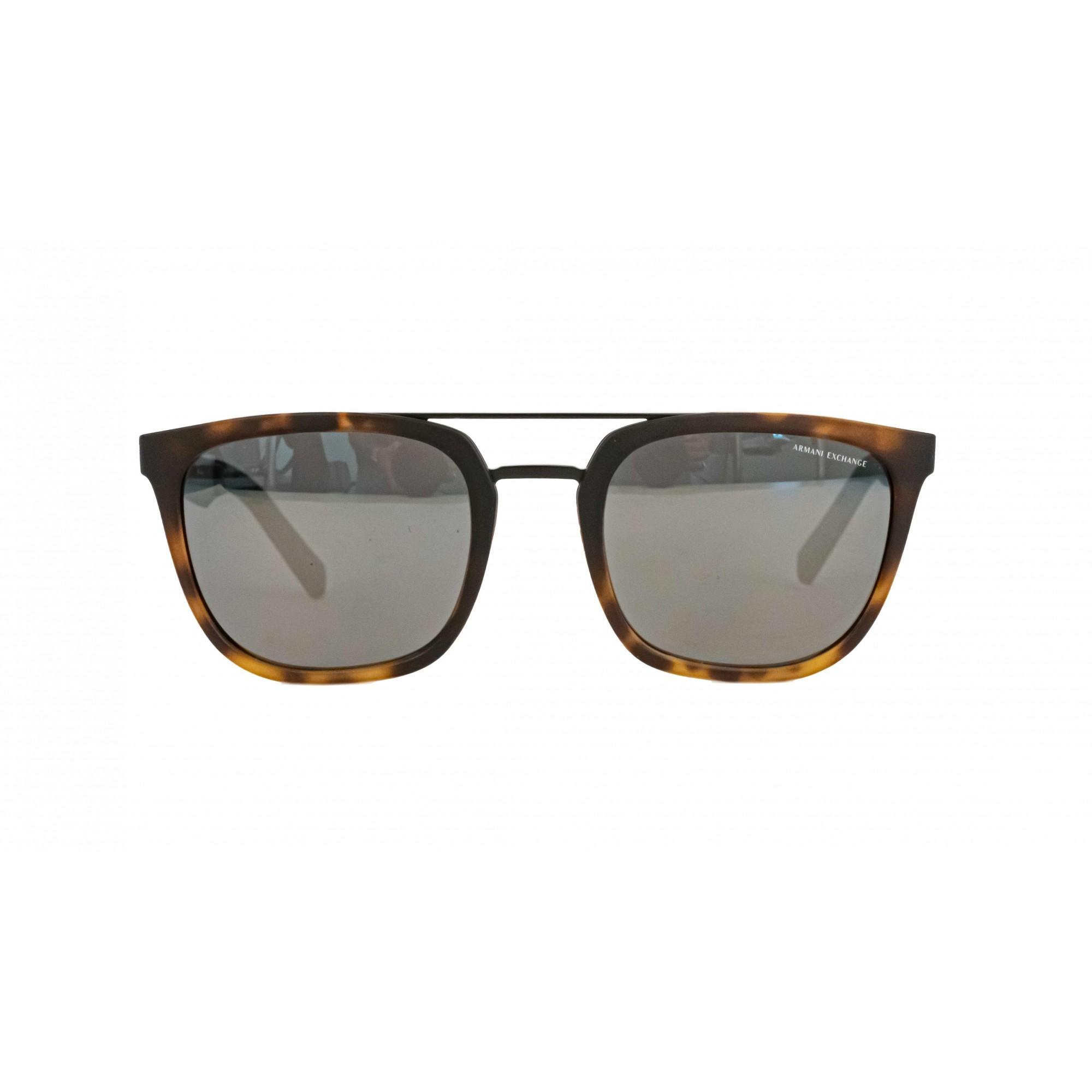 Óculos Armani Exchange Quadrado ax4090S 80786g 55 Tartaruga