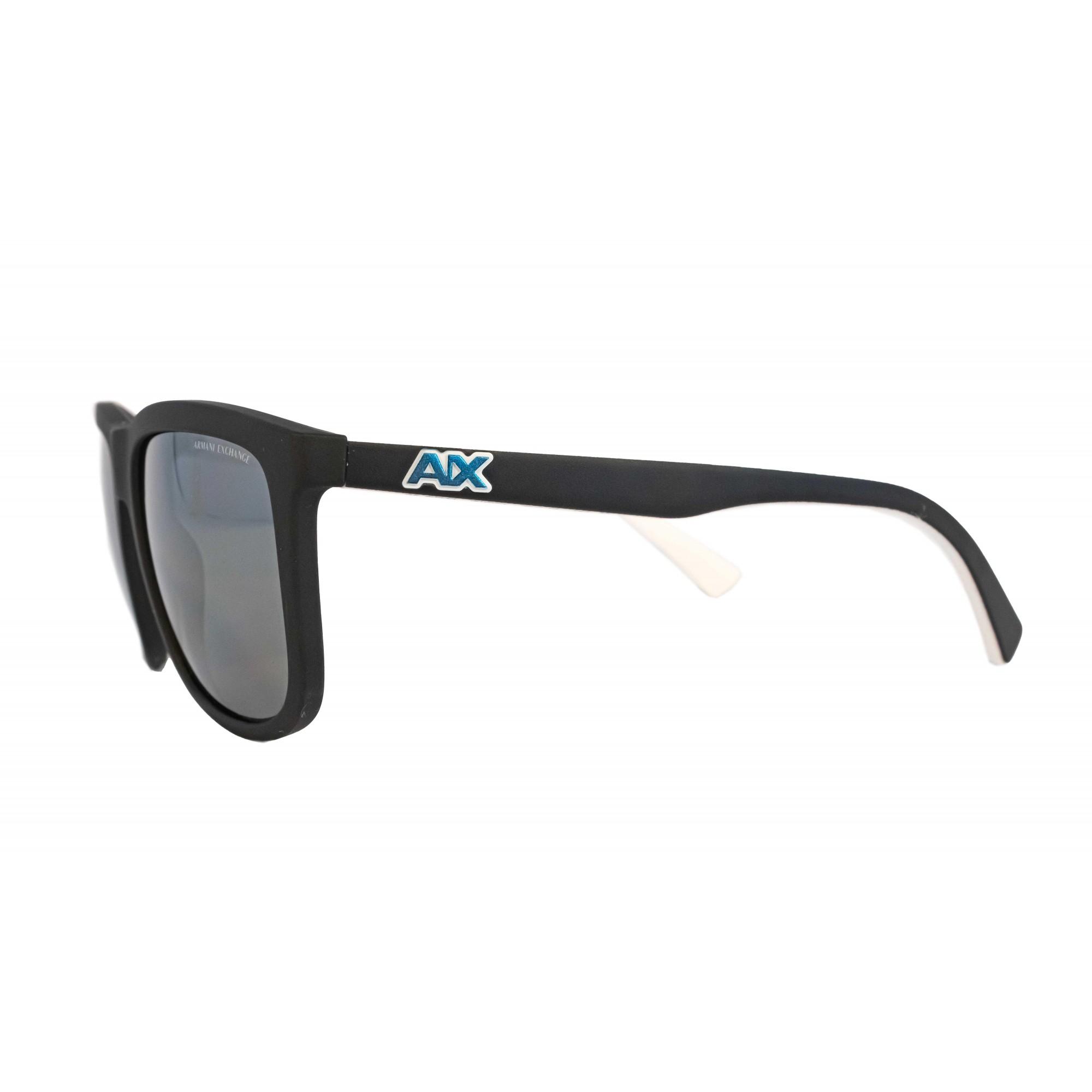 Óculos Armani Exchange Quadrado ax4093s 8078Z3 56 Preto
