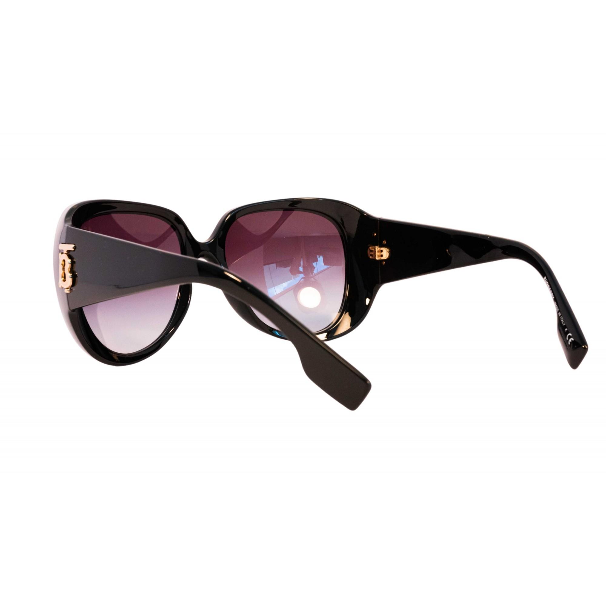 Óculos burberry borboleta be4303 30018g 57 Preto