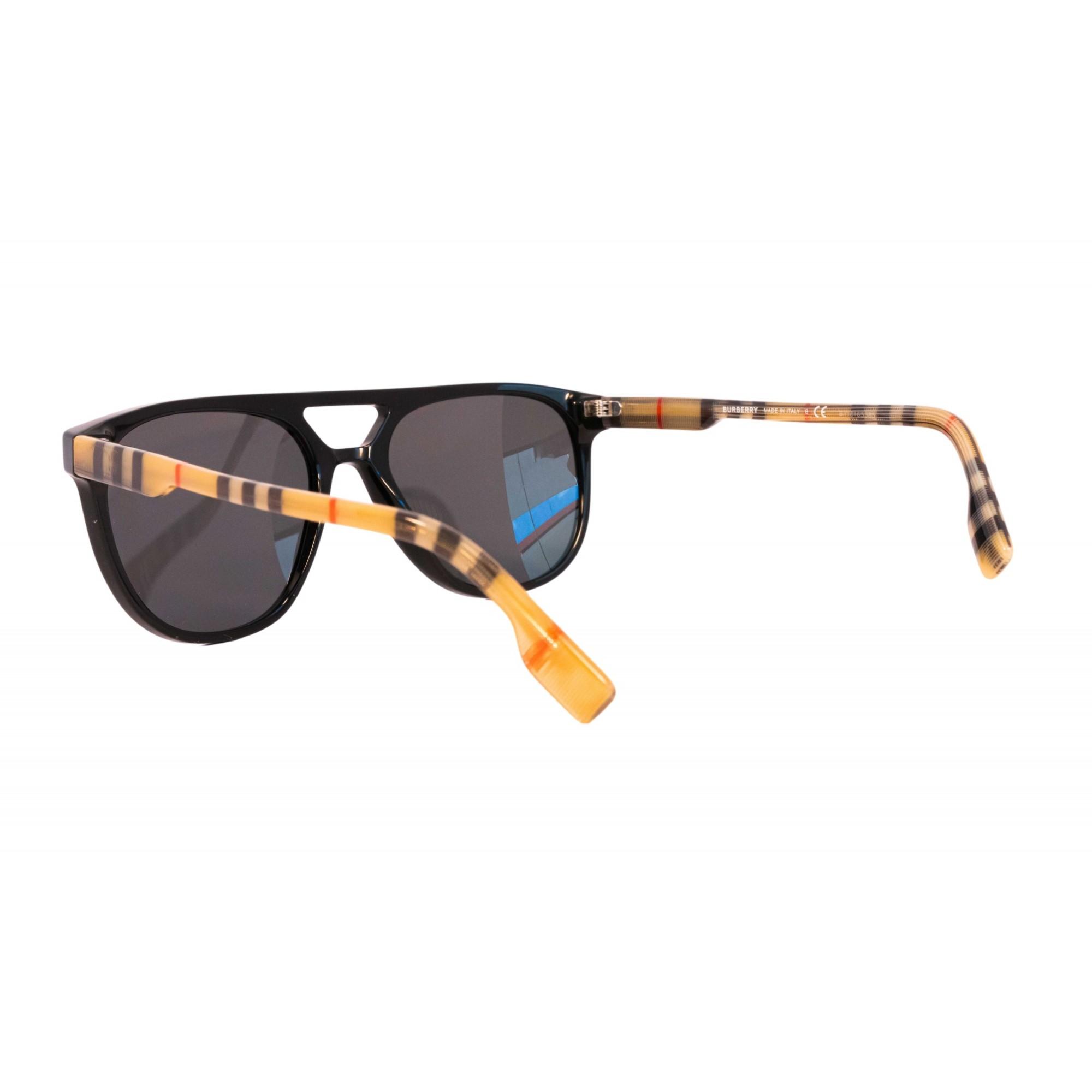 Óculos Burberry Aviador be4302 300187 56 Preto