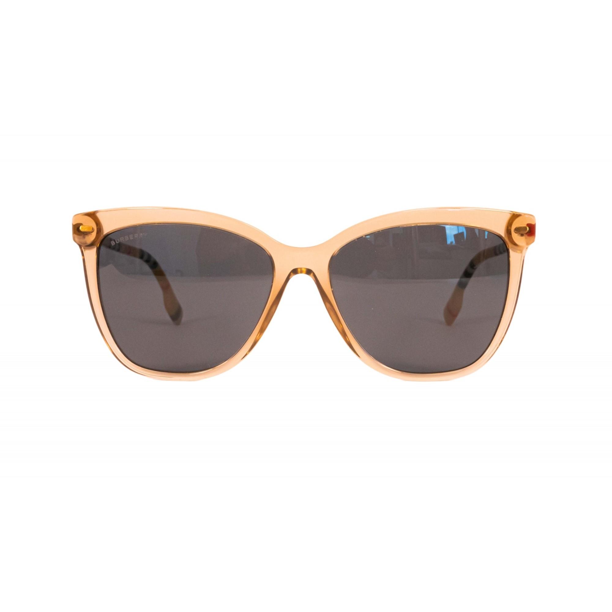 Óculos Burberry Cat Eye be4308 385687 56 Transparente