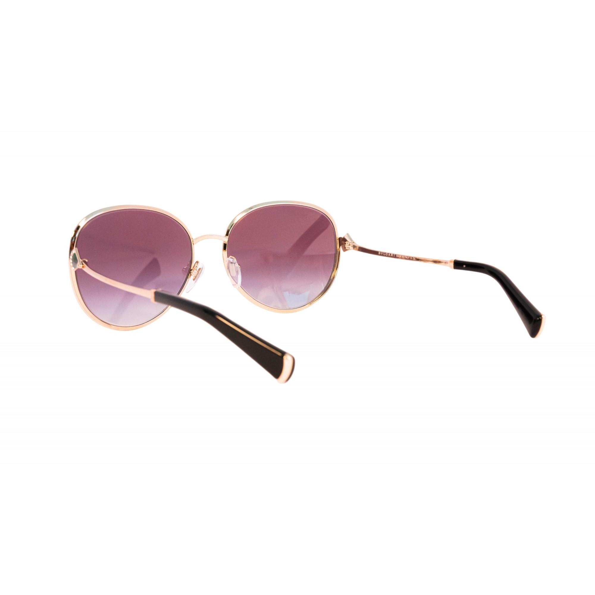 Óculos Bvlgari Clássico bv6106b 20338g 59 Dourado