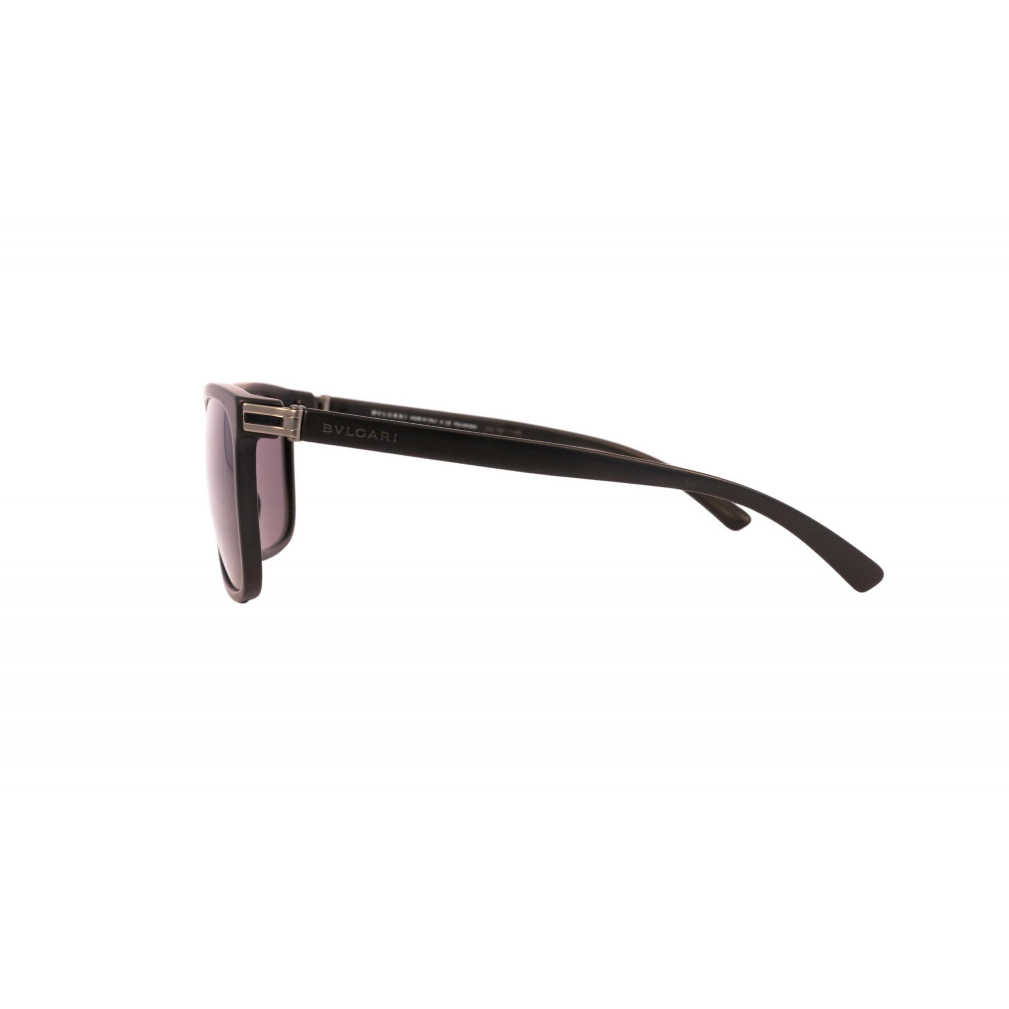 Óculos Bvlgari Clássico bv7027 50187 57 Preto