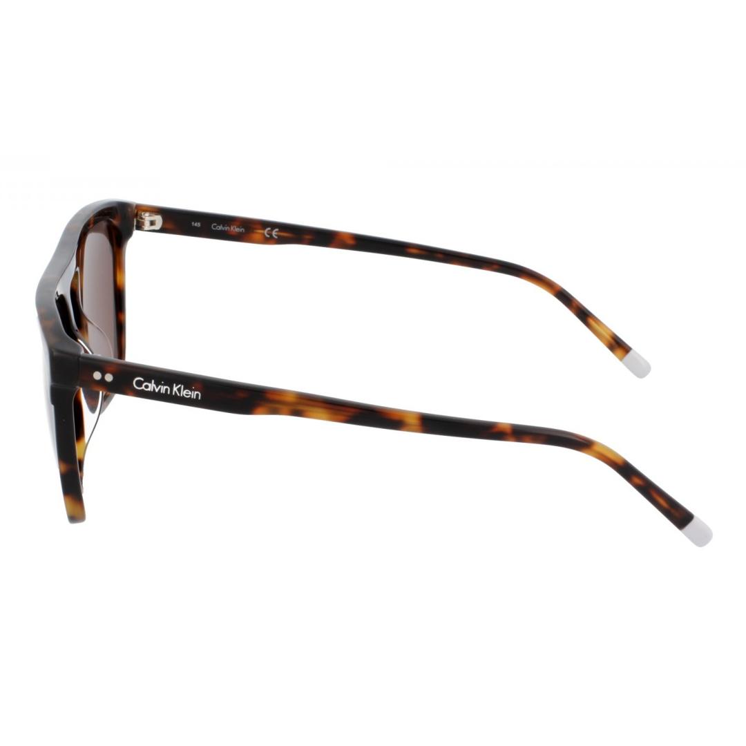 Óculos Calvin Klein Quadrado CK4351S 214 56 Tartaruga