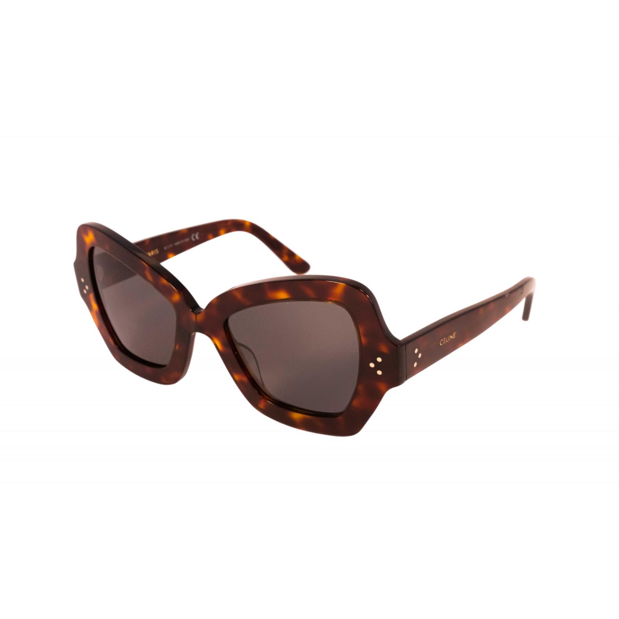 Óculos Celine borboleta cl40067i 54a 54 Tartaruga