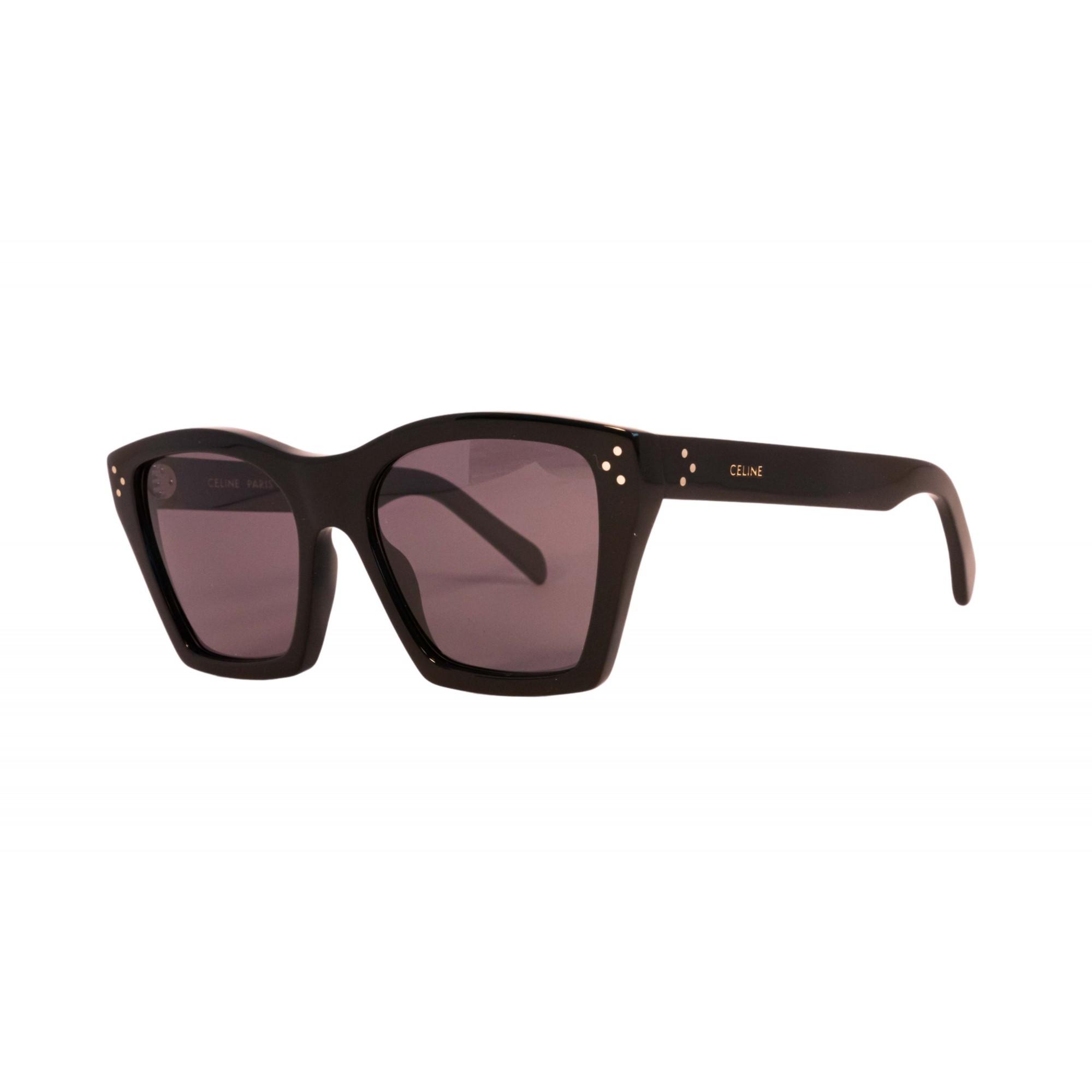 Óculos Celine Cat Eye CL40090i  01A 55 Preto