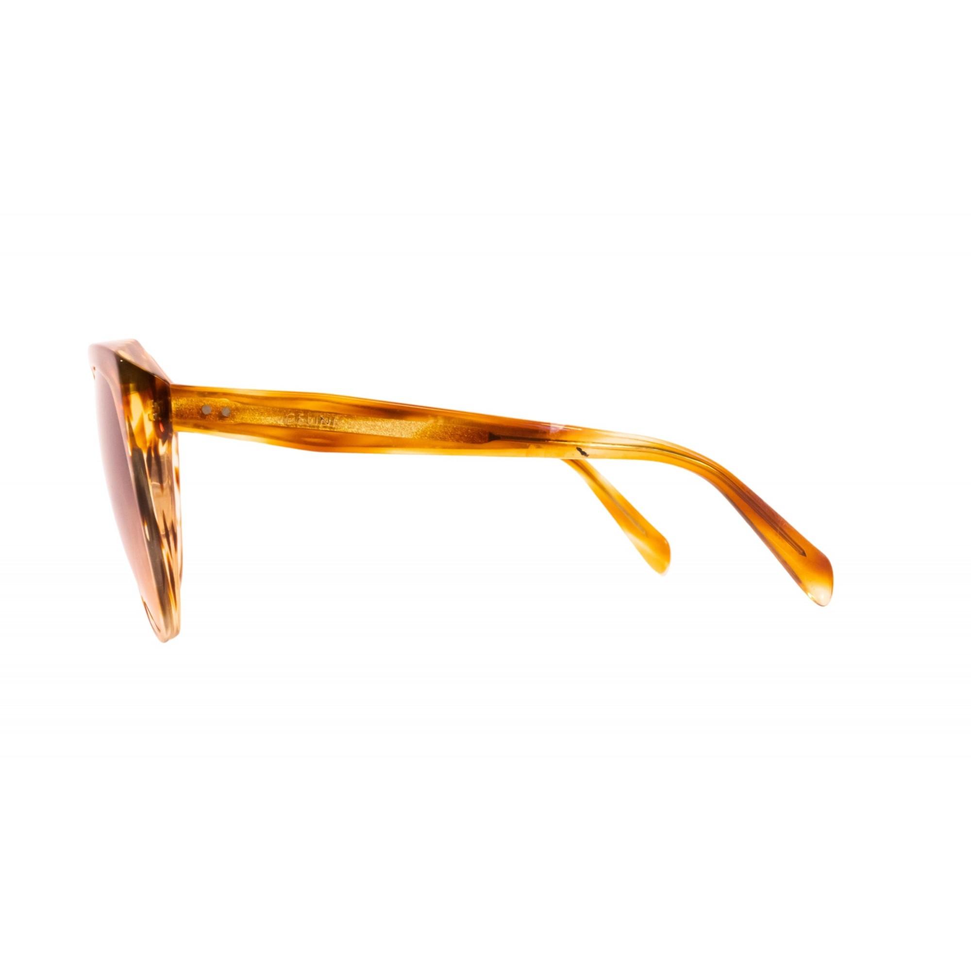 Óculos Celine Cat Eye cl40481n 56b 62 Dourado