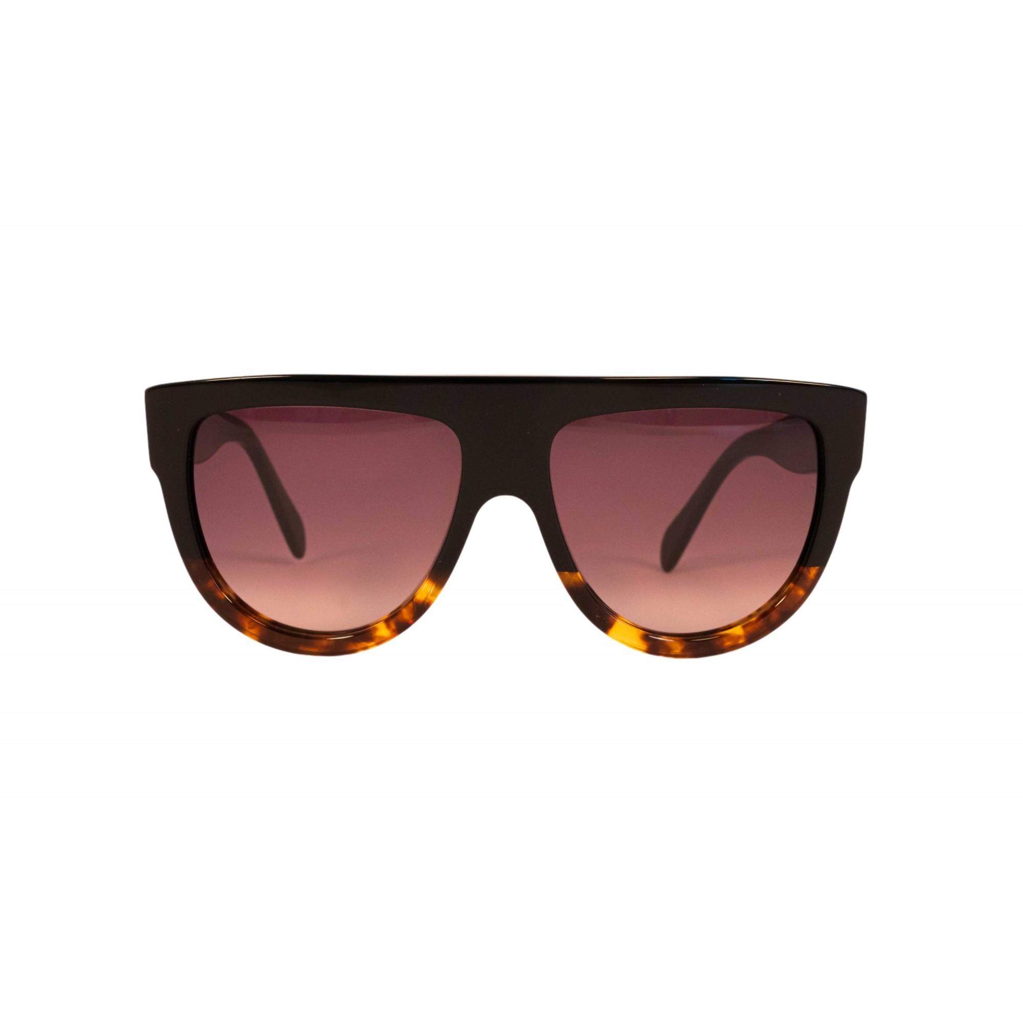 Óculos Celine Clássico cl4001in 05f 58 Preto/Tartaruga