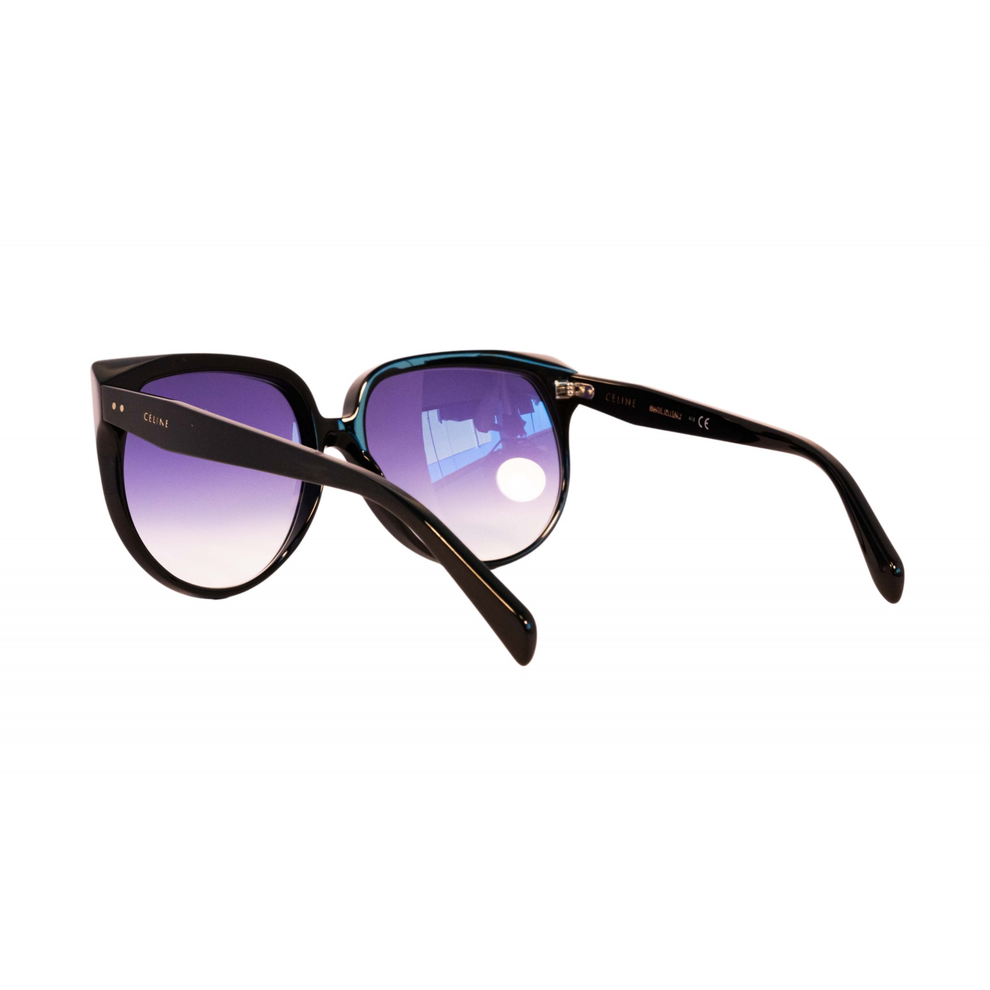 Óculos Celine Clássico cl40048i 01w 62 Preto
