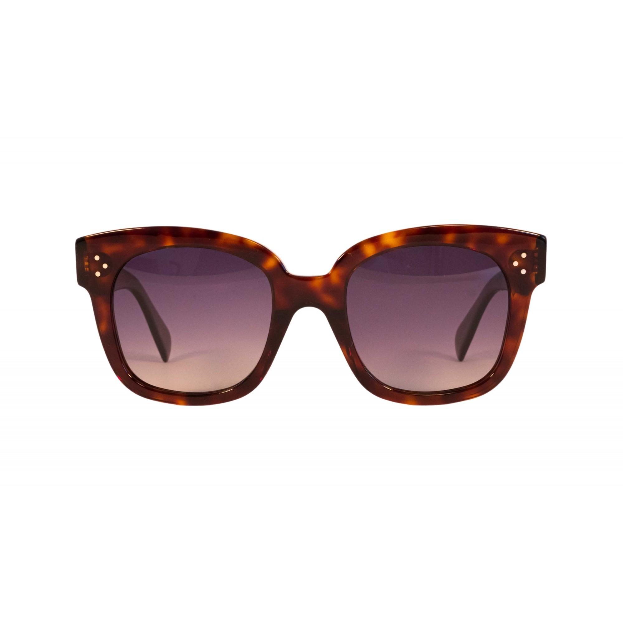 Óculos Celine Quadrado cl4002un 54d 54 Tartaruga