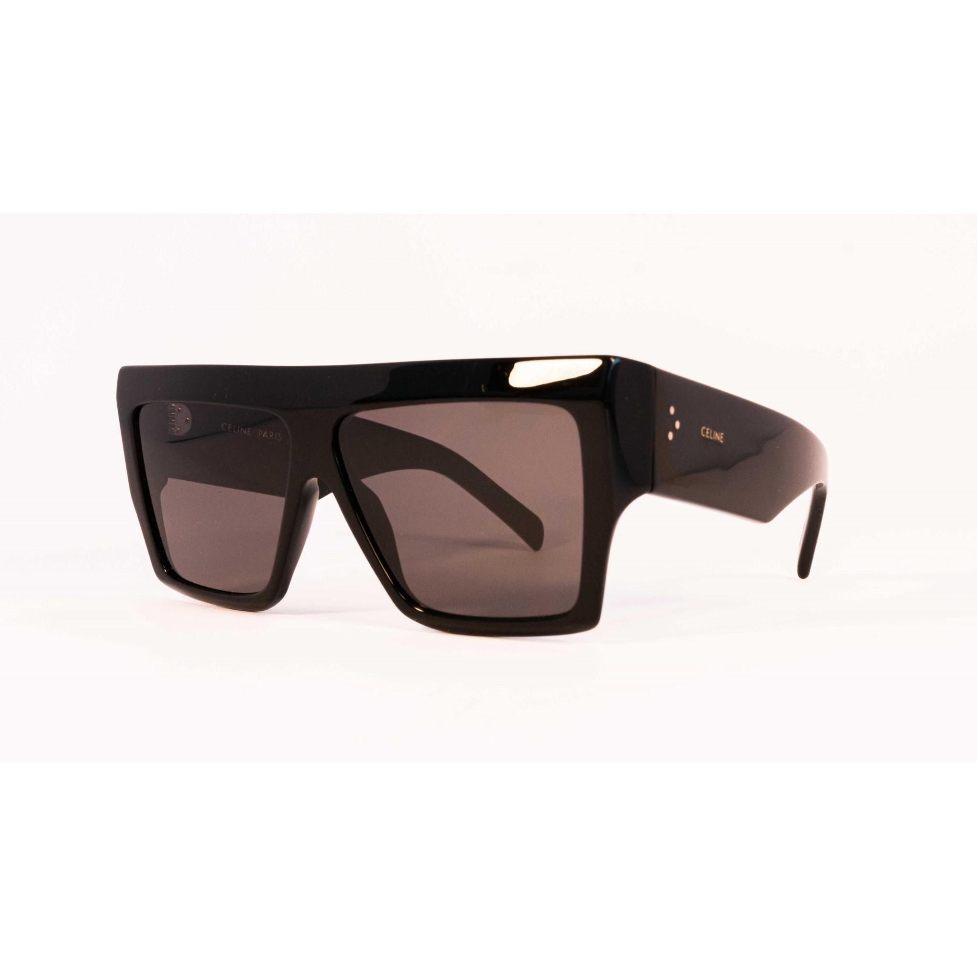 Óculos Celine Quadrado cl40092i 01a 60 Preto