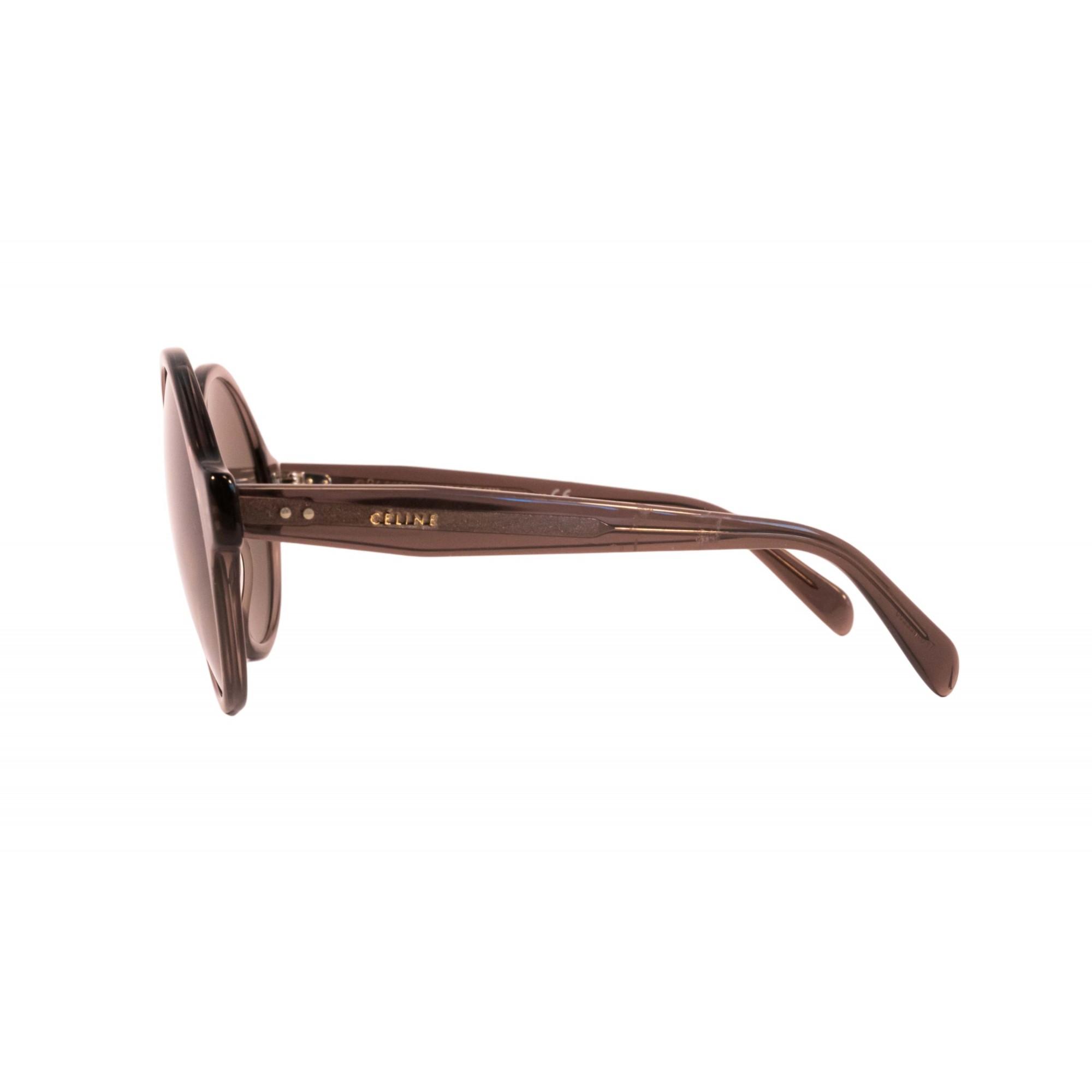 Óculos Celine Redondo cl40051i 39e 58 Transparente