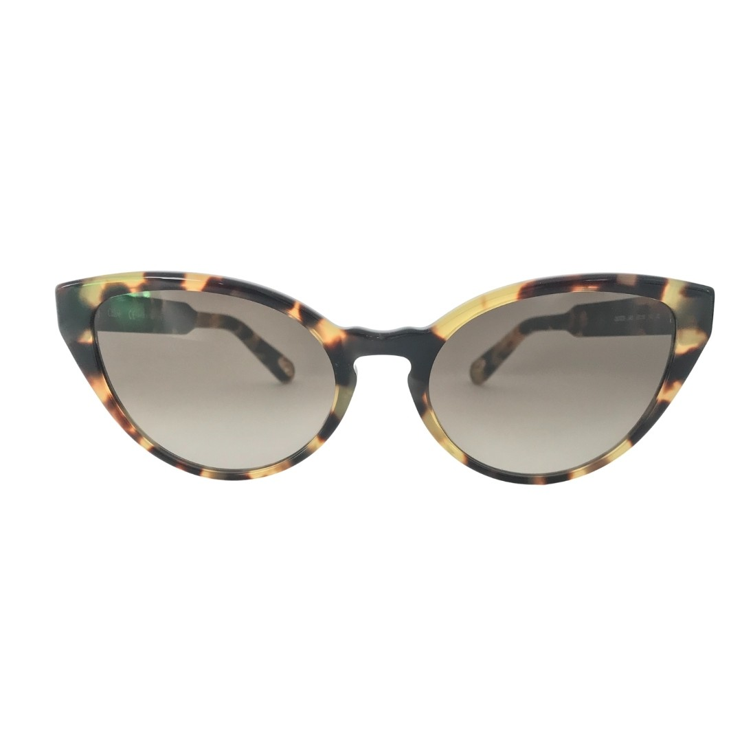 Óculos Chloe Cat-Eye CE757S 845 55 Havana