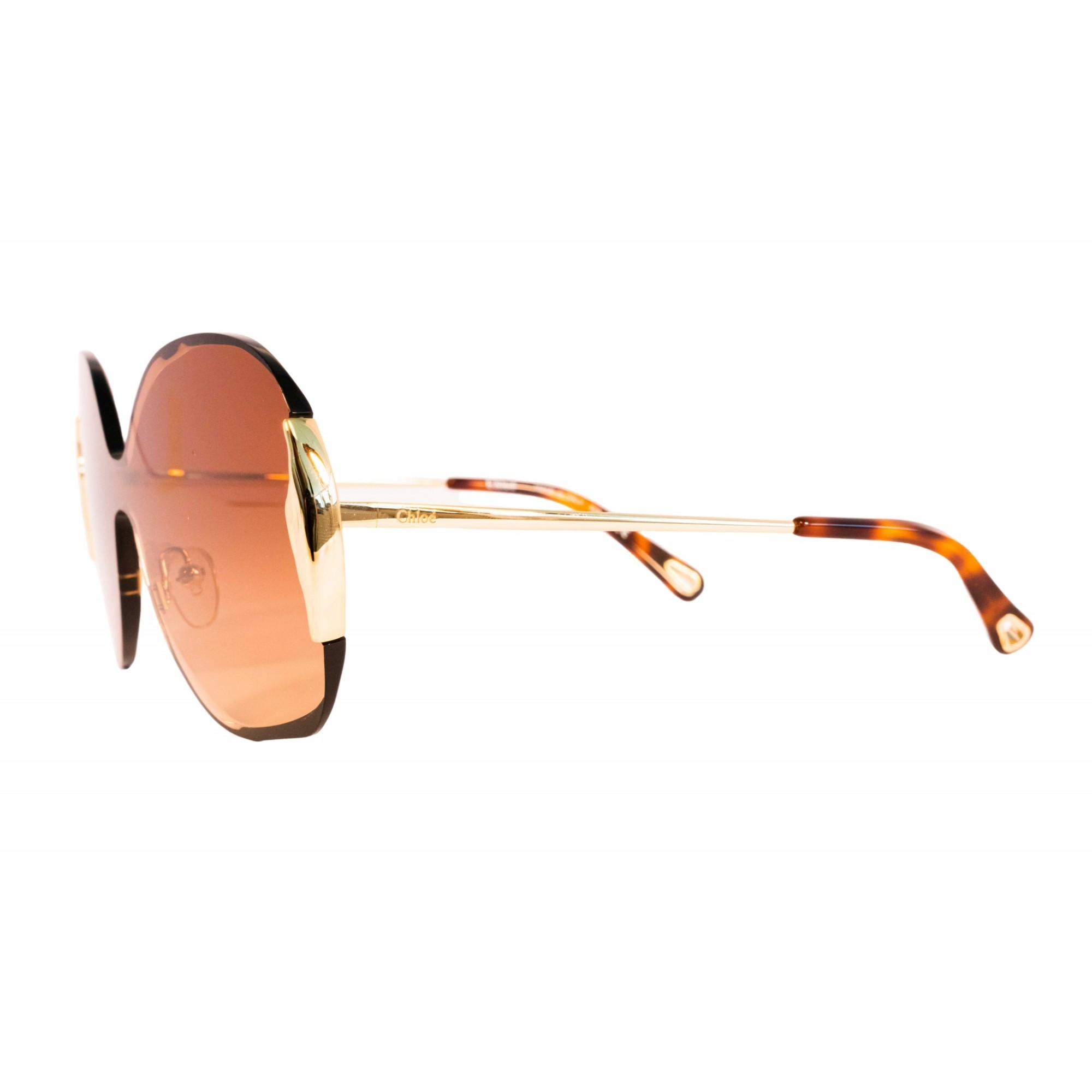 Óculos Chloe Máscara ce162s 742 59 Dourado