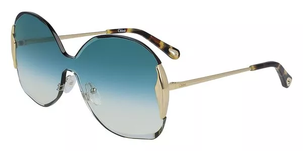 Óculos Chloe Máscara CE162S 838 59 Dourado