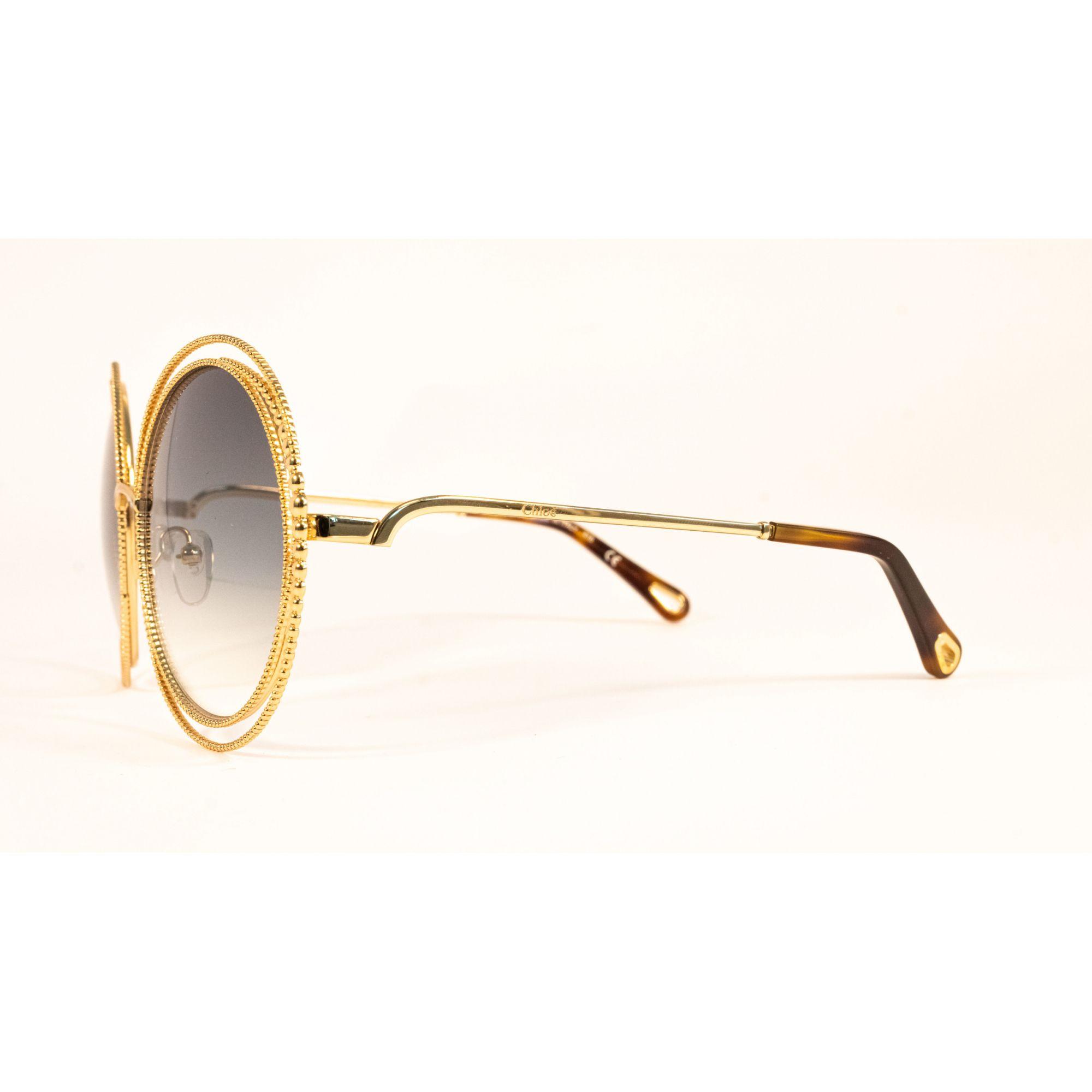 Óculos Chloe Carlina ce114sc 838 58 Prateado