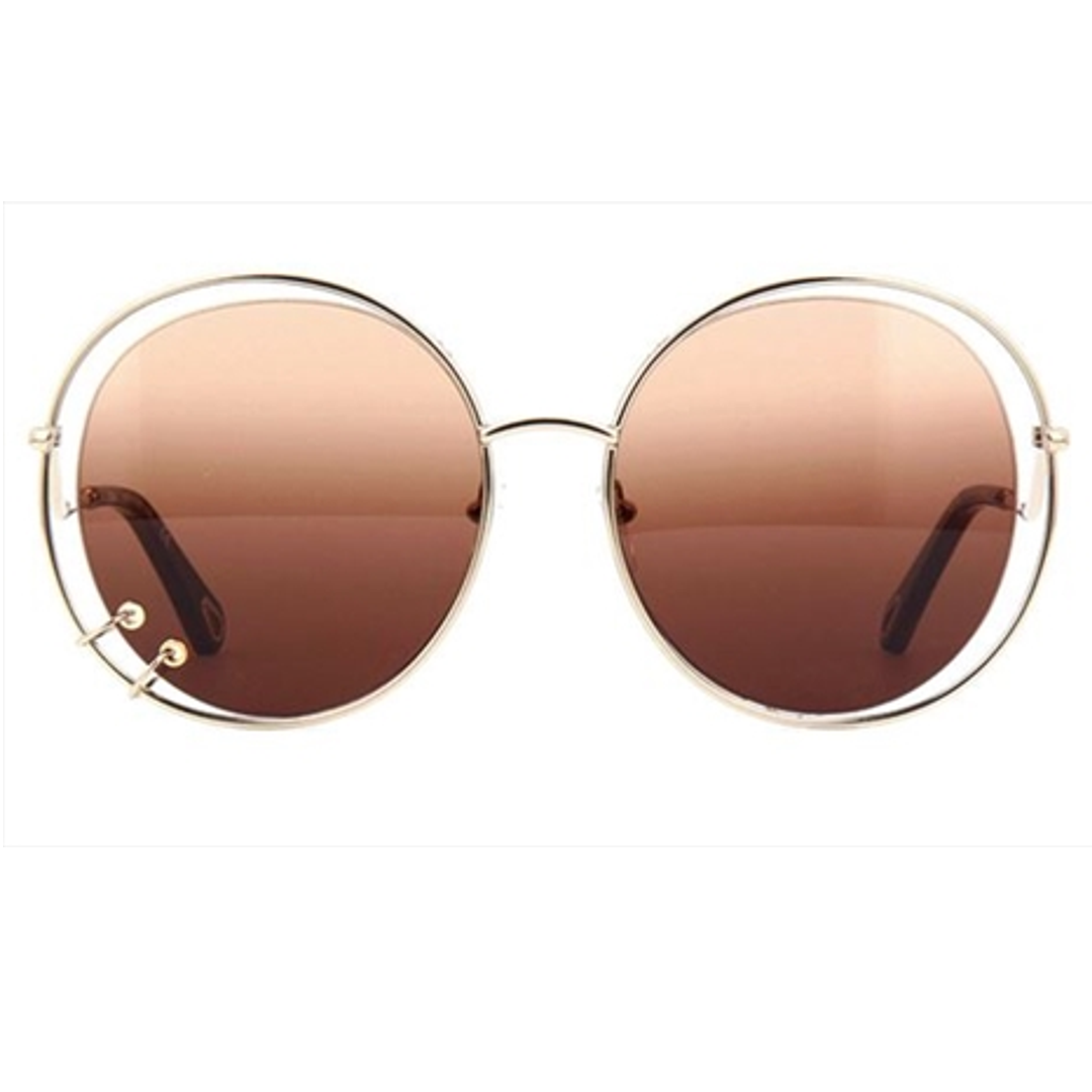 Óculos Chloe Redondo CE153S 742 59 Dourada