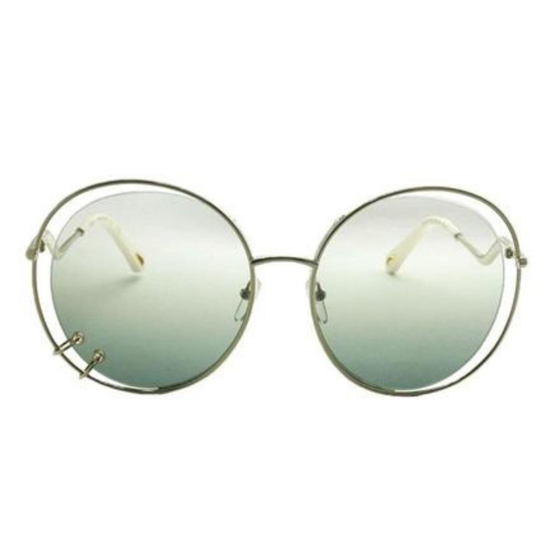 Óculos Chloe Redondo CE153S 838 59 Dourado