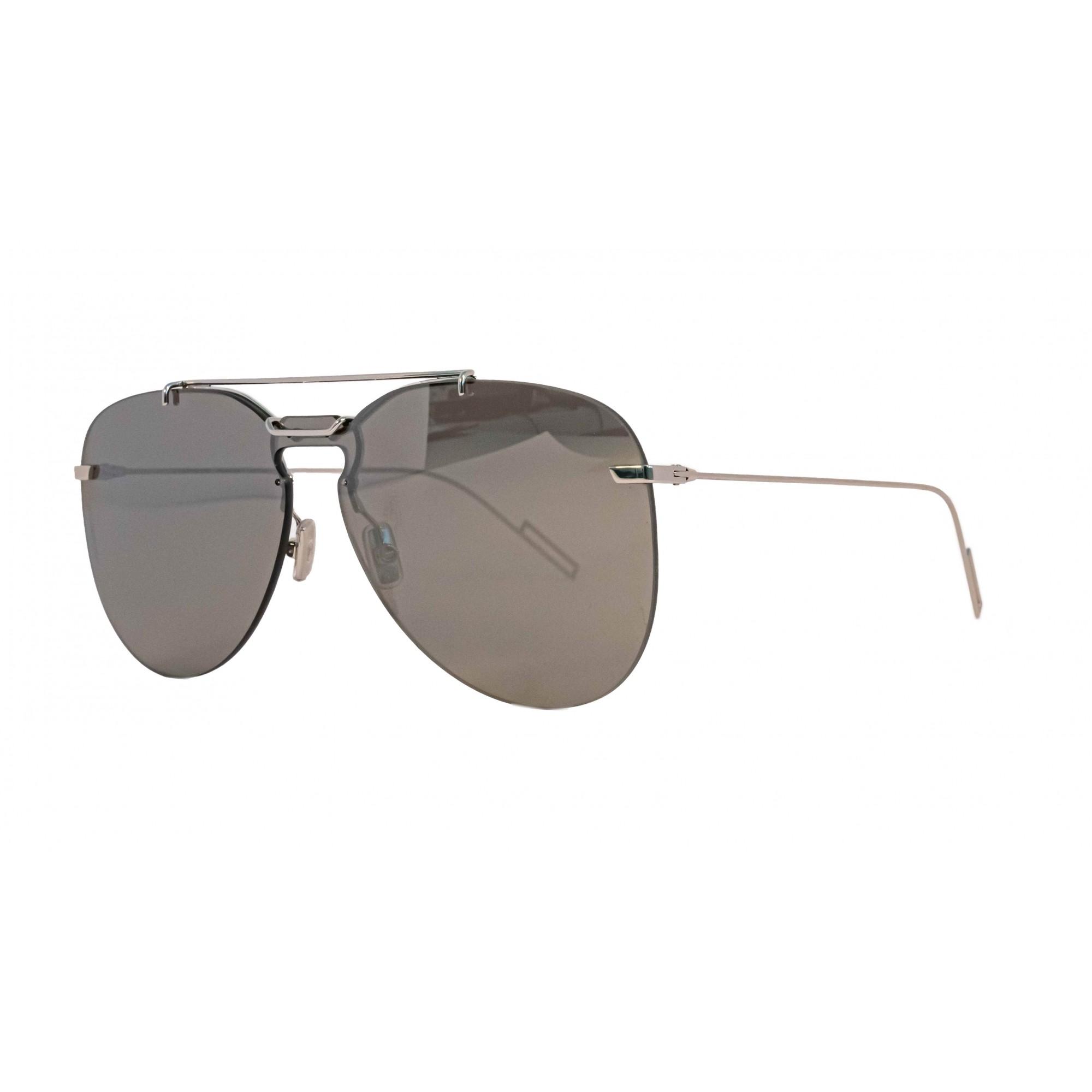 Óculos Dior Aviador 0222s 0100t Tu Prateado