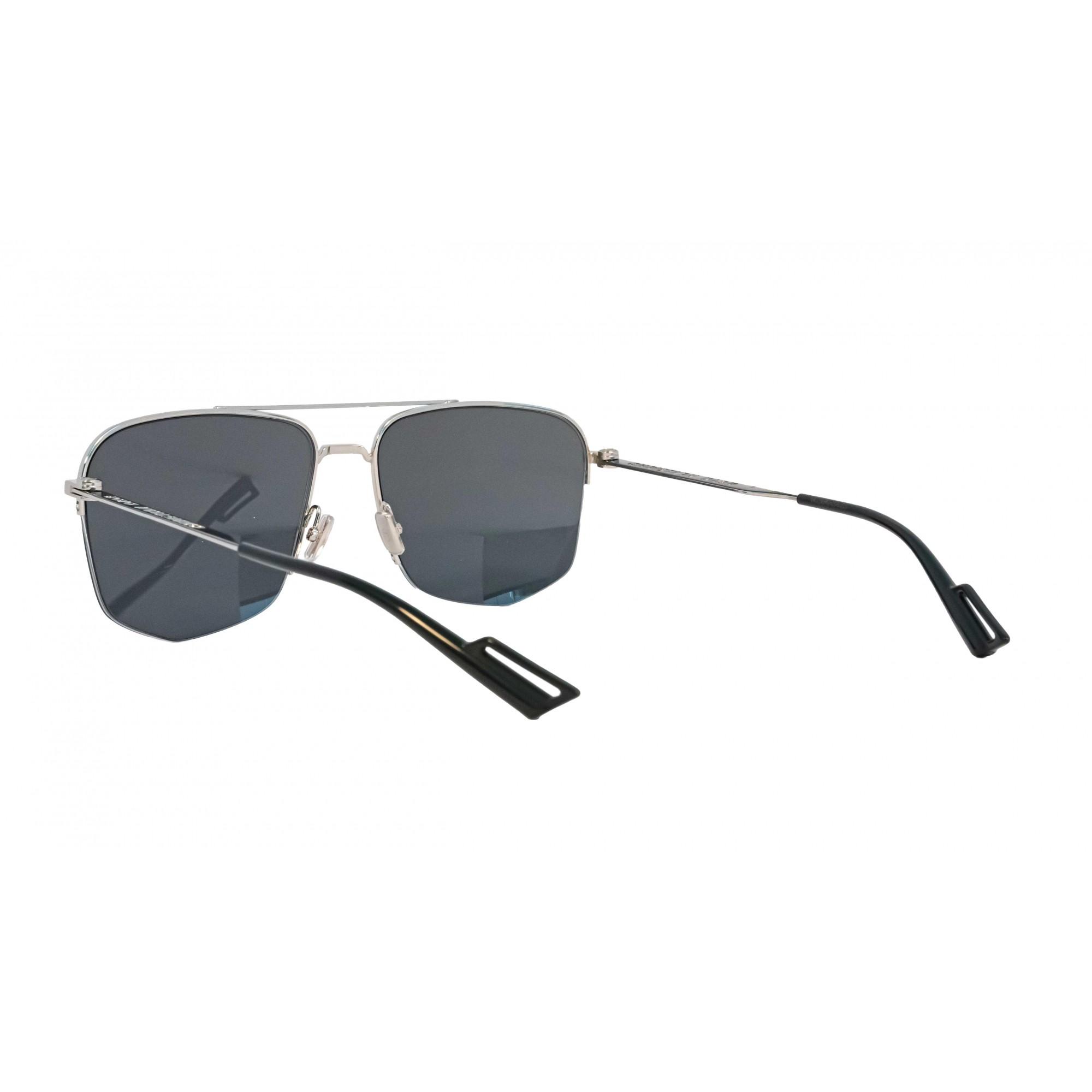 Óculos Dior Aviador 84jir 84jir 60 Prateado
