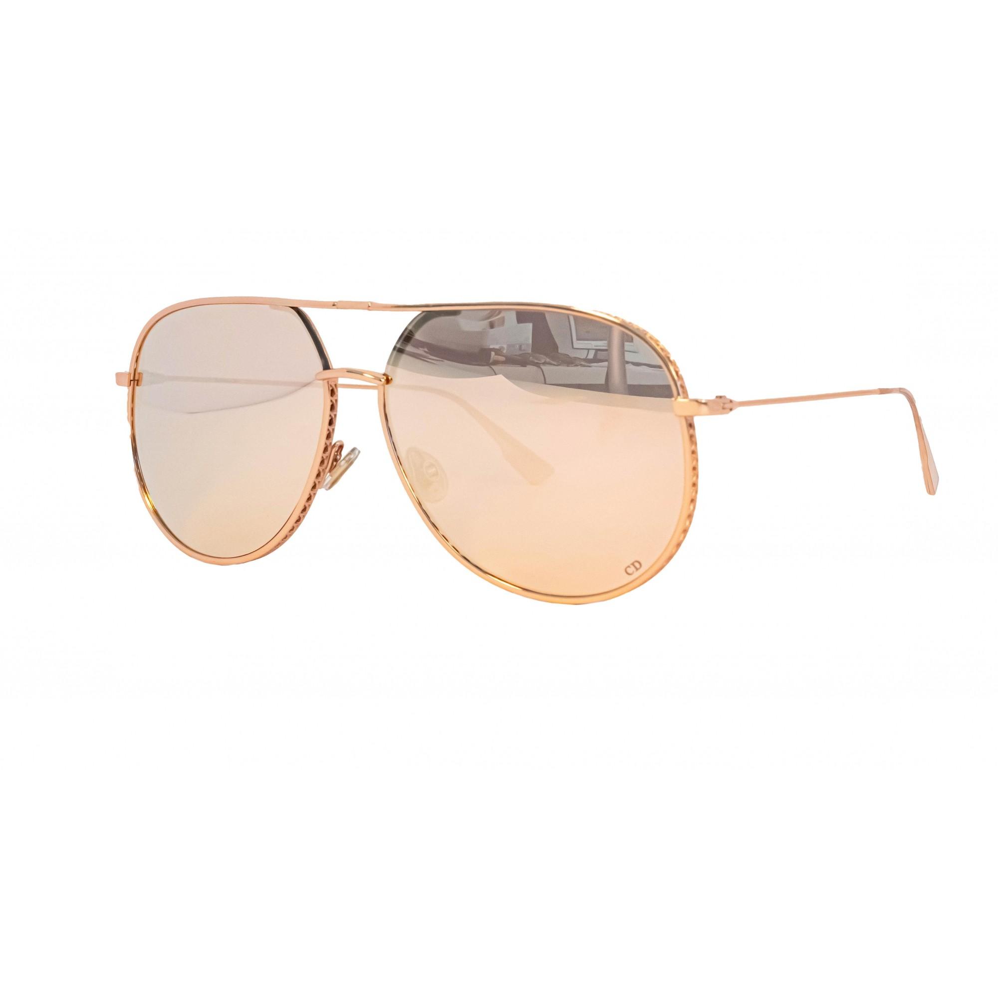 Óculos Dior Aviador Bydior Ddbsq 60 Rosé