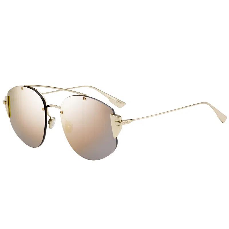 Óculos Dior Clássico STRONGER J5G0J 58 Dourado