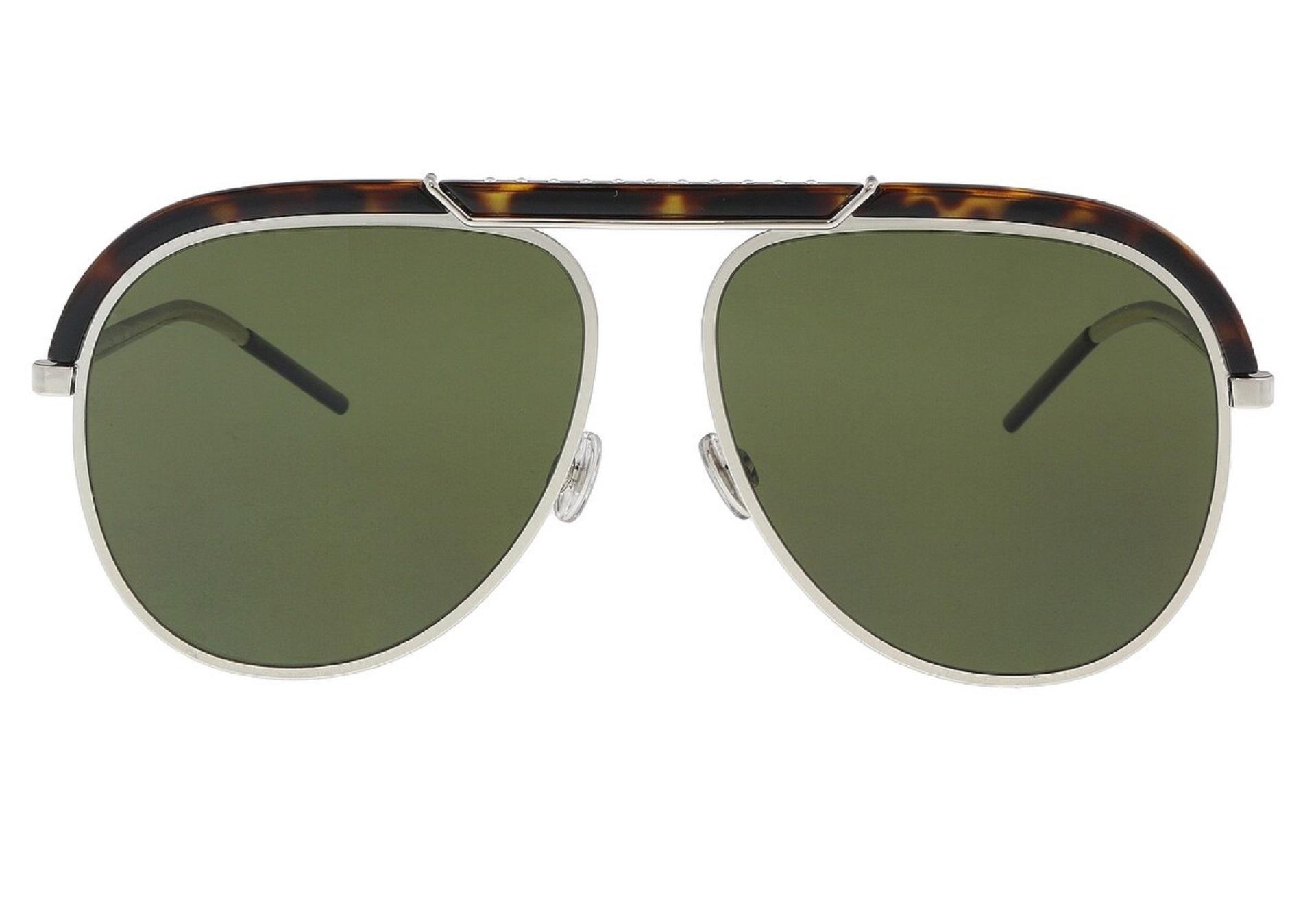Óculos Dior Desertic Aviador 9G007 58 Tartaruga