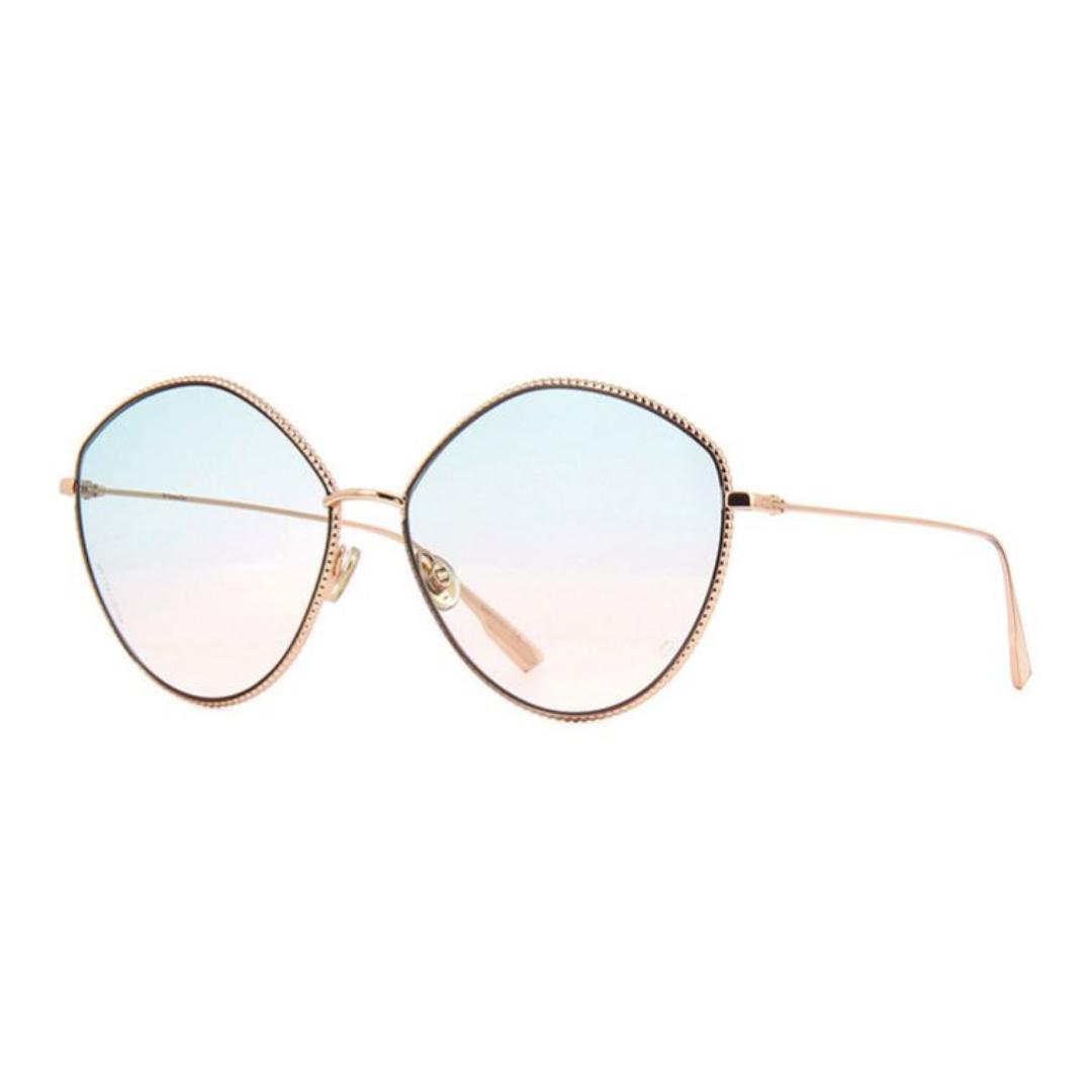 Óculos Dior Irregular SOCIETY4 DDBJP 61 Dourado