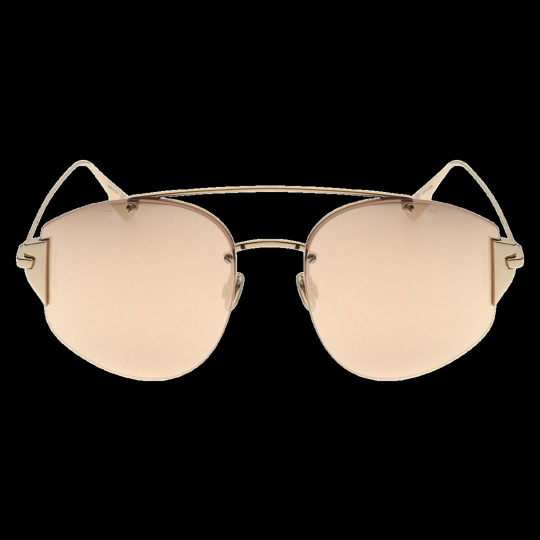 Óculos Dior Irregular Stronger J5GSQ 58 Dourado