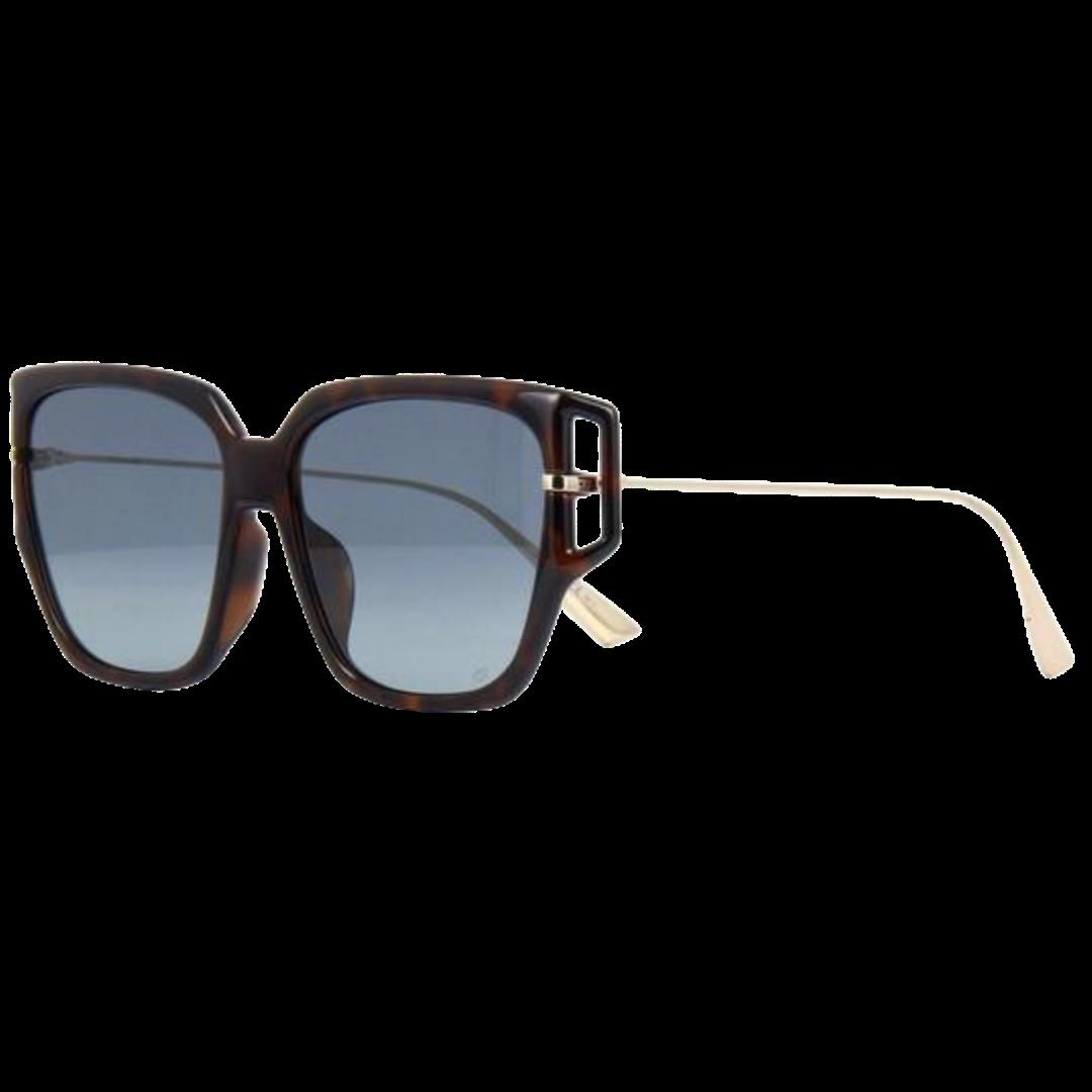 Óculos Dior Quadrado Direction3F 0861L 58 Preto