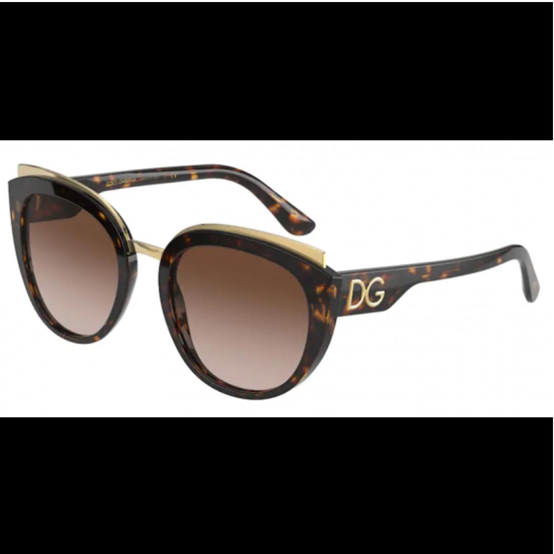 Óculos Dolce&Gabbana Borboleta DG4383 50213 54 Tartaruga