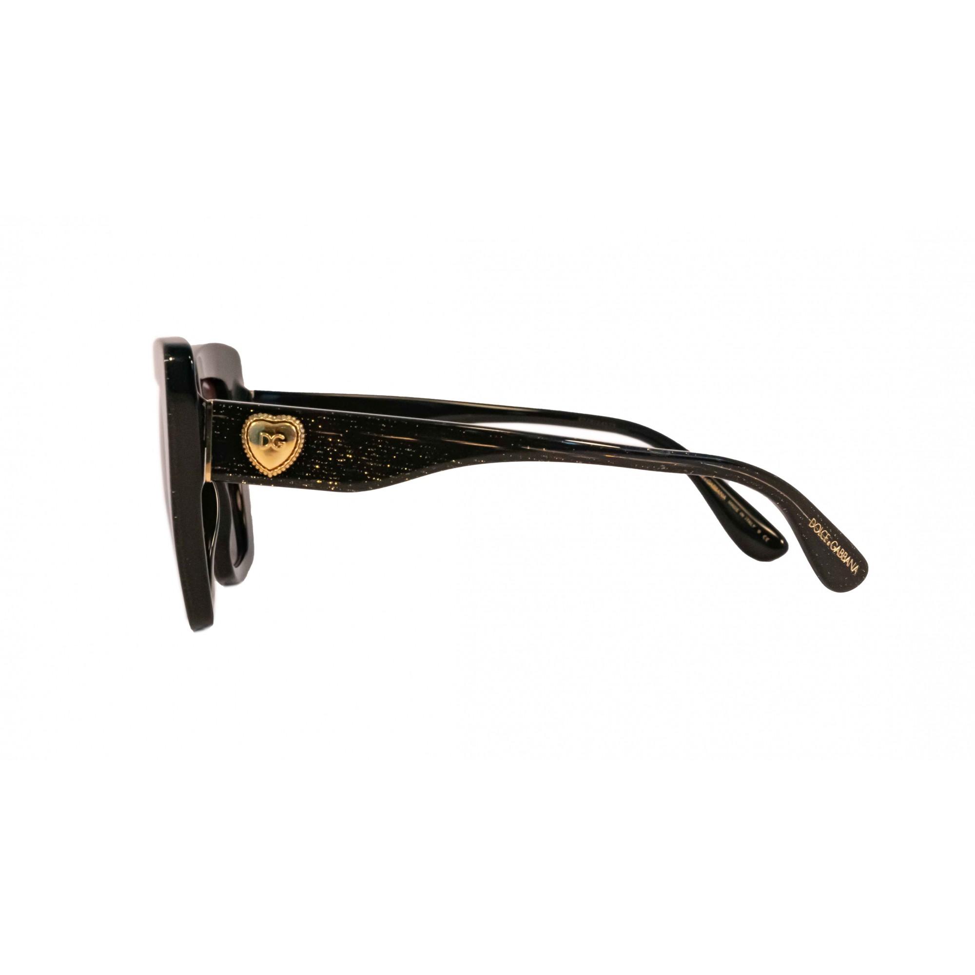 Óculos Dolce&Gabbana Cat Eye Dg4359 32188g 52 Preto