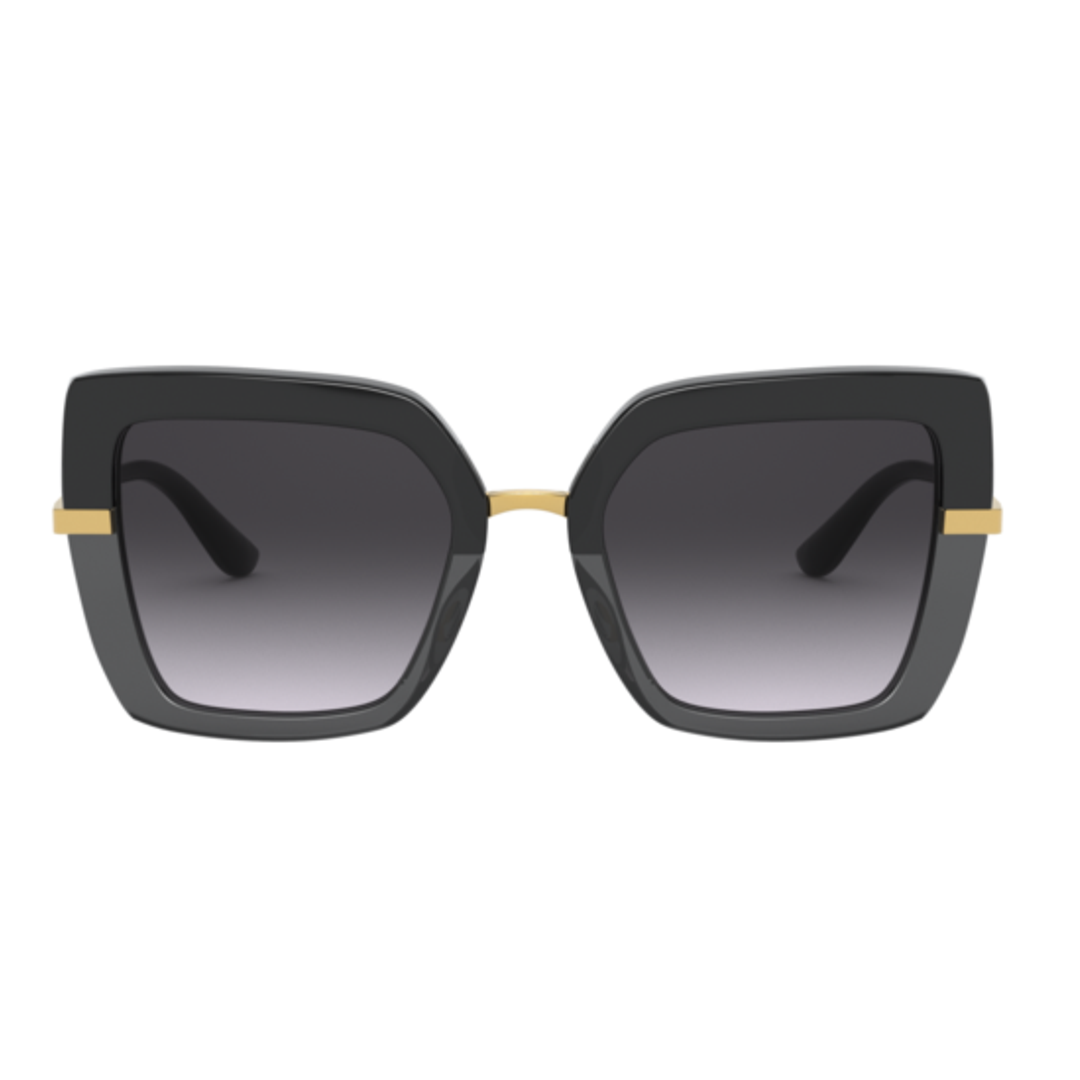 Óculos Dolce&Gabbana DG4373 32468G 52 Preto/Dourado
